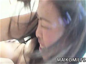 Tomomi Kitano - fuckpole liking JAV cougar humping