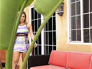 Keisha Grey gets busy with her BFFs dude