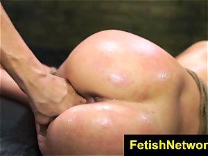 FetishNetwork Esmi Lee domination & submission jism facial