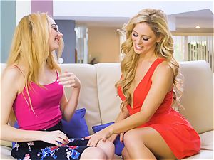 steaming neighbor Cherie Deville is on a temptation mission