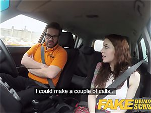 fake Driving school USA honey Anna De Ville