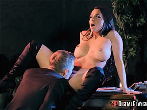 Abigail Mac takes on the monster chisel of Danny D