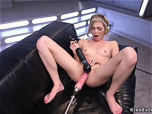 blondie blasting on lengthy trouser snake fucking machine