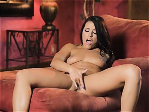 Adriana Chechik scorching solo masturbation session
