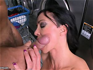 Rampant clits enjoys getting her sugary-sweet wet puss packed with large rigid jizz-shotgun
