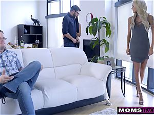 mommy tears up sonny And munches internal ejaculation For Thanksgiving treat