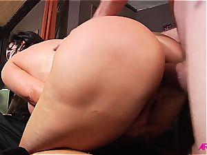 Nikki Benz getting firm anal invasion hookup