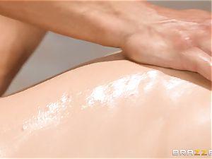 Mature Nina Hartley bod massage