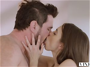 VIXEN Riley Reid has powerful 3some with Ana Foxxx and boyfriend