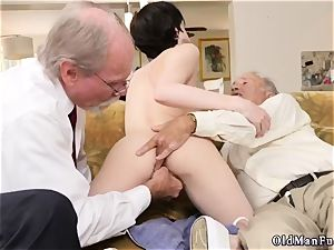 ideal brown-haired nubile and lady masturbation Frannkie heads down the Hersey highway