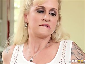 super-naughty stepmom Ryan Conner is filled by her stepson