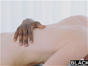 BLACKED fat bbc in her rosy pucker