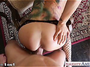 tattooed housewife Romi Rain banging