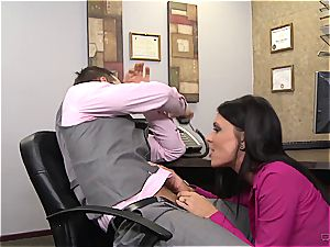 classic mummy pounding at office