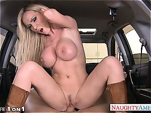 kinky Nikki Benz in point of view getting her mummy cooch smashed