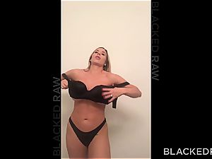 giant titted stupid housewife gets slain by a enormous ebony cumbot