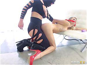 domme Phoenix Marie gets her hands on Blake Eden
