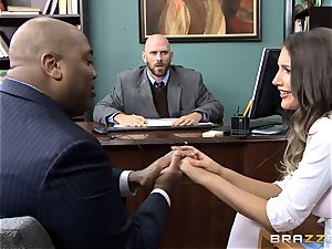 exquisite August Ames gets pummeled by the dean