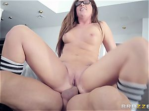 Maddy OReilly boned rock-hard by Johnnys rock-hard chisel