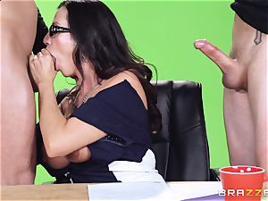Newsreader Ariella Ferrera torn up on TV