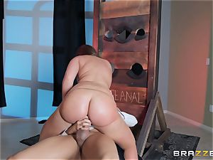 anal invasion is on the menu for Maddy OReilly