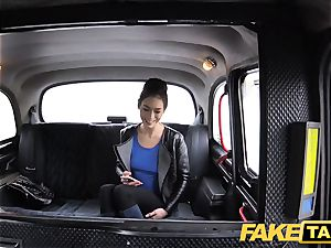 fake taxi Russian wooly cooter natural funbags