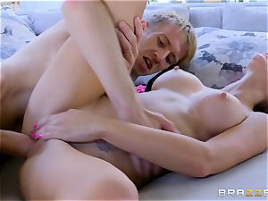Monique Alexander takes it deep by the monster cock of poolboy Danny D