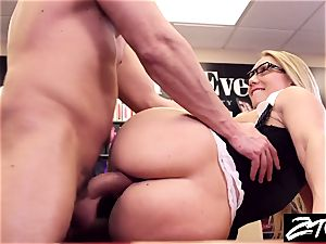AJ Applegate assistant takes it up the butt her manager