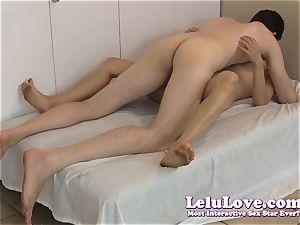 duo commences condom gargle pound then condom off internal ejaculation