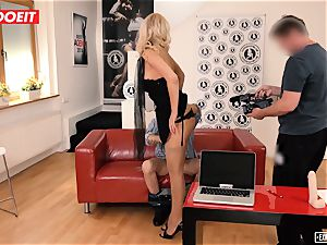 LETSDOEIT - super hot assistant banged hardcore At audition