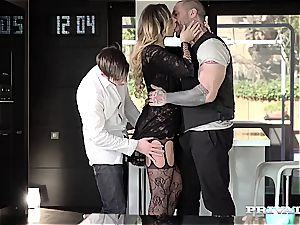 mind-blowing undergarments babe Anna Polina gets smashed