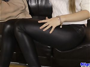 taunting eurobabe first-timer pov cockriding
