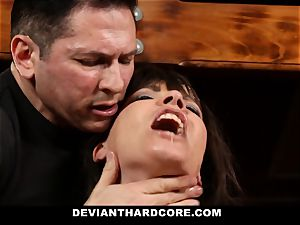 DeviantHardcore-Hot cougar massaged and handcuffed To Cross