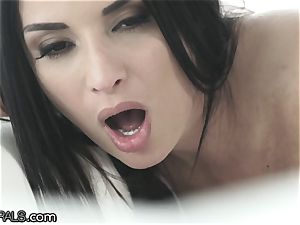 Anissa Kate's sphincter is lingering for More spunk-pump