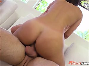 crazy babe Eva Lovia fucked deep in the cooter pie pudding