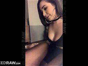 BLACKEDRAW Latina wifey blasts with 12 inch monster dark-hued manmeat