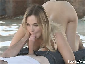Homeless cockslut Blair Williams desires of a prince with a enormous prick