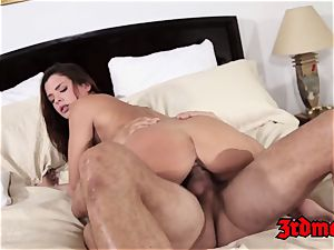 Keisha Grey Gets pounded By a giant sausage