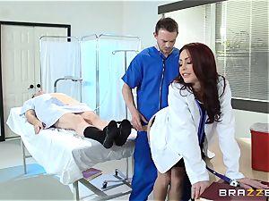 wonderful medic Monique Alexander nails her trainee