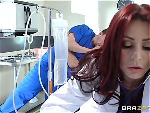 wonderful medic Monique Alexander nails her trainee