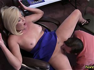 plowing the super-steamy secretary