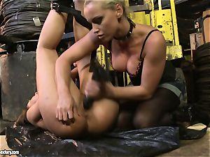 Andy chocolate-colored and Kathia Nobili caboose dildoing firm
