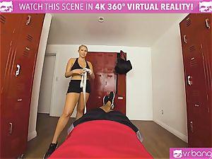 VRBangers.com super hot babe sweaty humping Her Boxing Coach