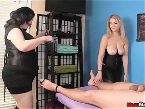 customer Shocks To witness The wonderful platinum-blonde masseur
