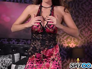 Spizoo-Watch Alison Tyler fuckin' a ginormous pipe thick titties