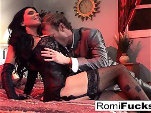 Businessman watches Vampire video then fucks an prostitute