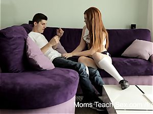 Syren Demer mischievous mummy teaches stepdaughter