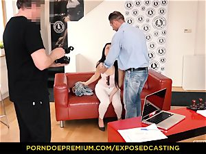 revealed casting - Taissia Shanti pulverized stiff in her bootie