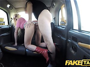 faux cab blondie handsome sweetie does backseat anal invasion intercourse