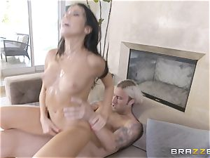 steaming sisters Peta Jensen and Megan Rain share their stepbrother